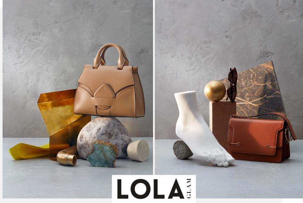 Lolaglam- ottone handbag